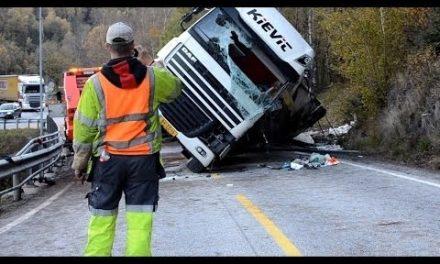 Tungtransport involvert i mange trafikkdødsfall